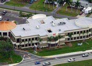 Pacaya Bay Building Aerial View