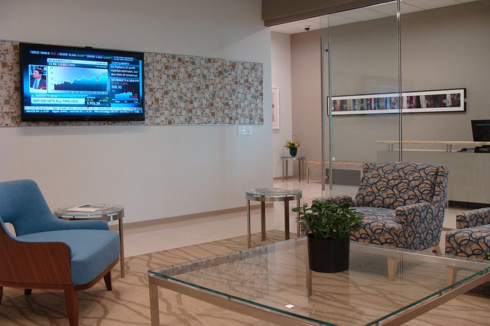 US Bank Private Client Reserve Waiting Area