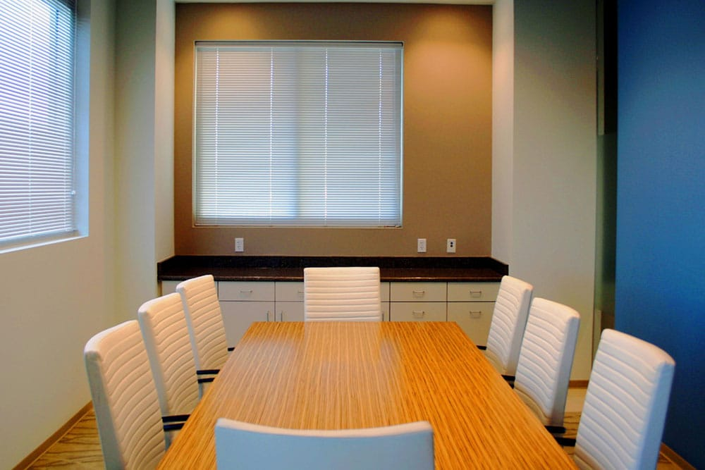 US Bank Private Client Reserve conference table