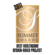2011 Summit Awards - Best Healthcare Design-Build Project