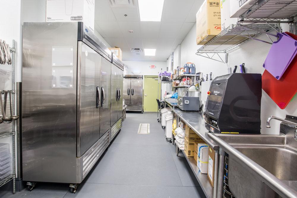 Commercial Kitchen interior kitchen setup