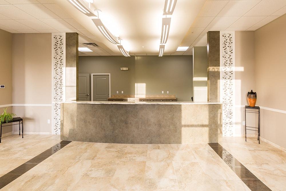 Dermatology Solutions Reception Desk
