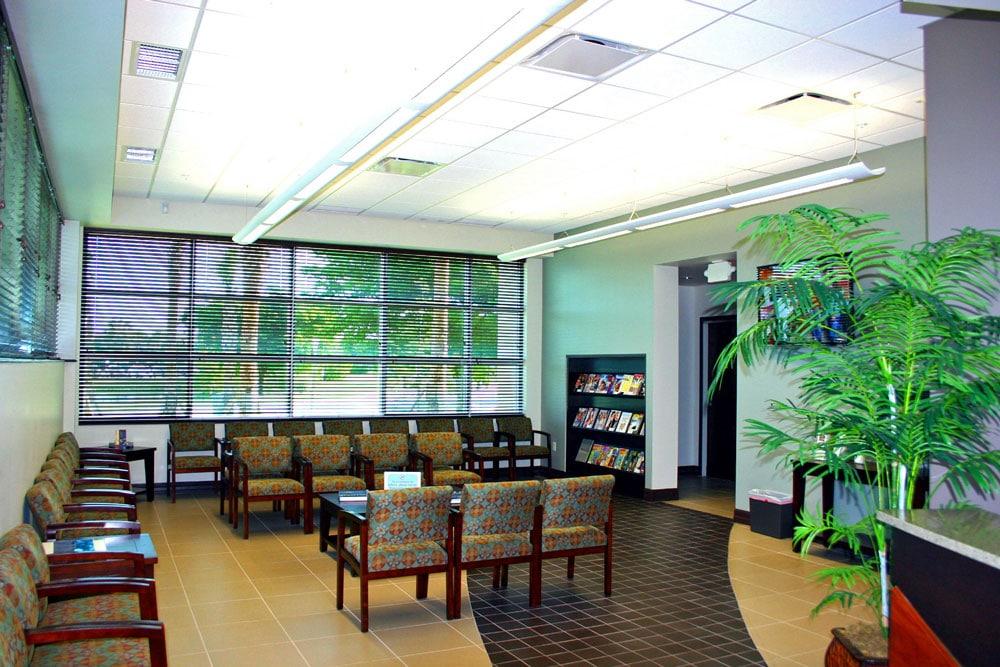 SWFL Eye Care Interior waiting room