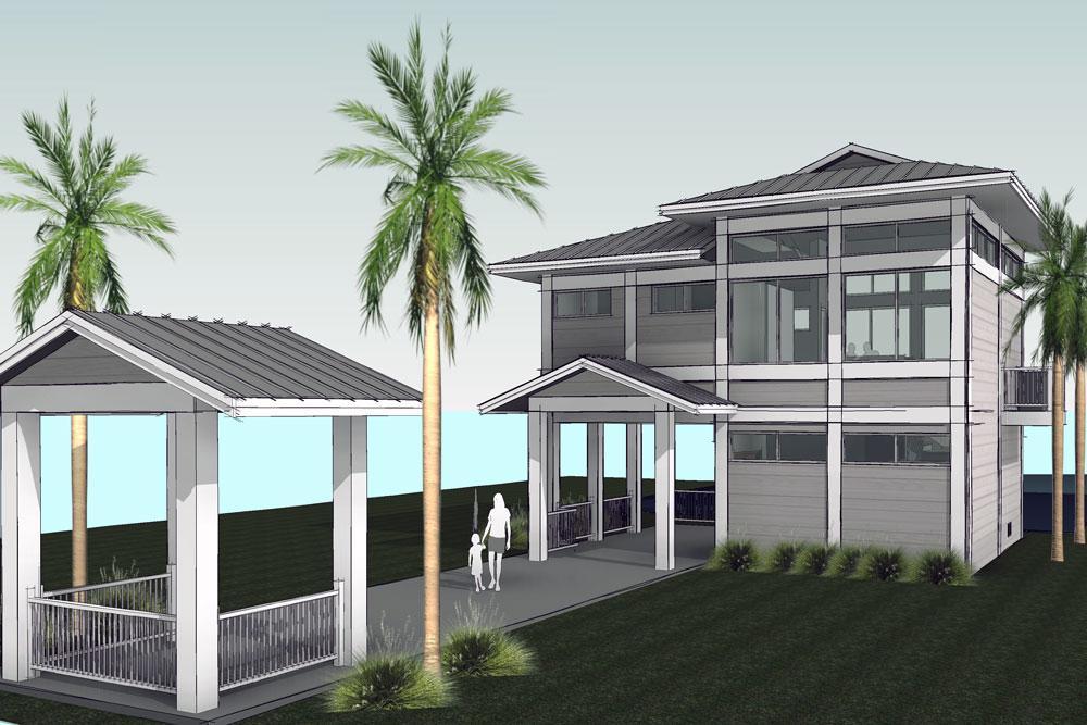 Sarasota Lounge rendering