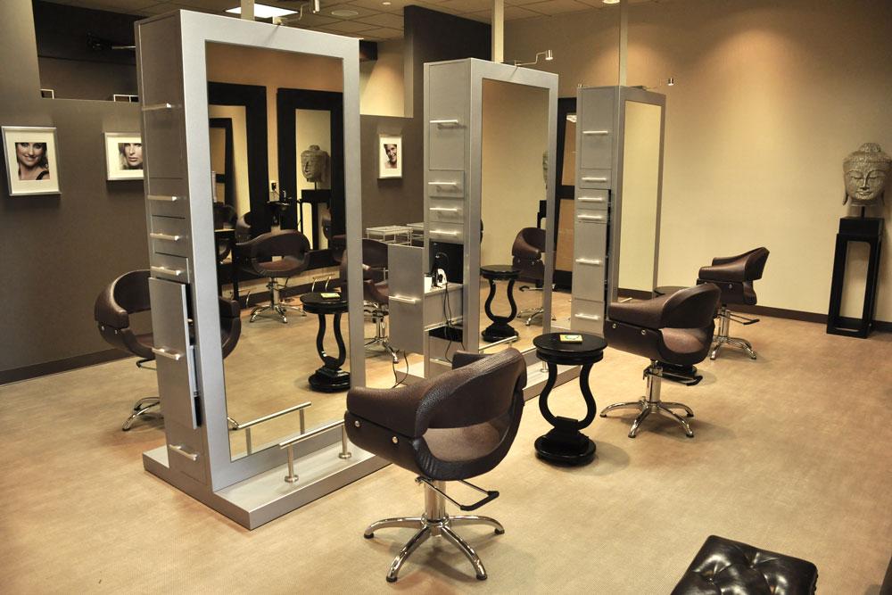 Vanity hair spa gcg construction for Salon construction