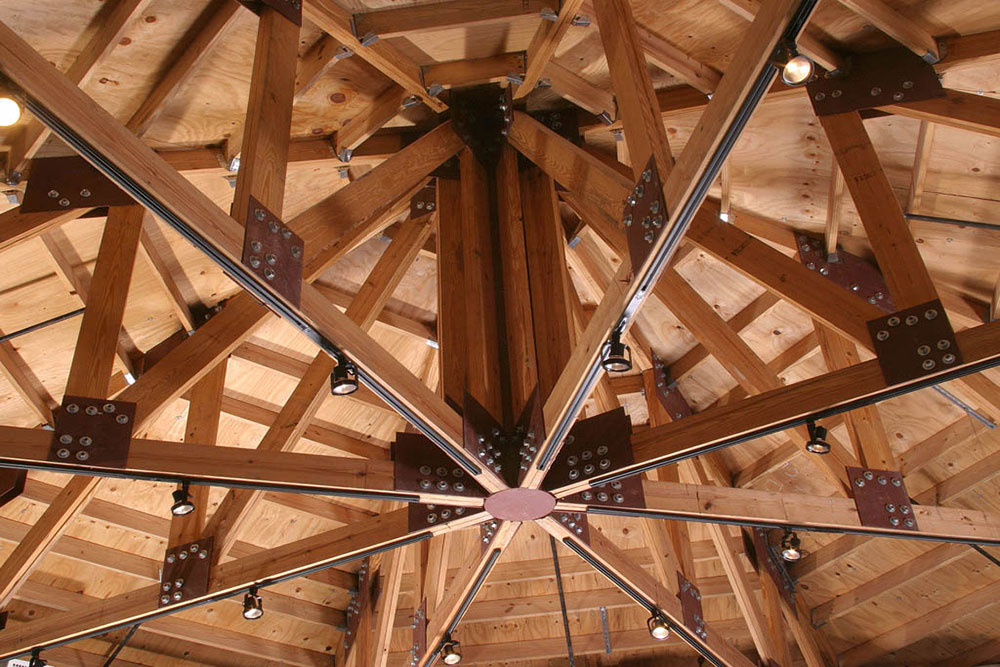 Architecture, Inc. custom ceiling woodwork