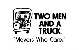 Two Men & A Truck Construction Logo