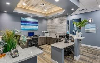 Avalon Dental Reception Area