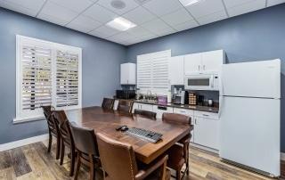 Avalon Dental Office Kitchen Area