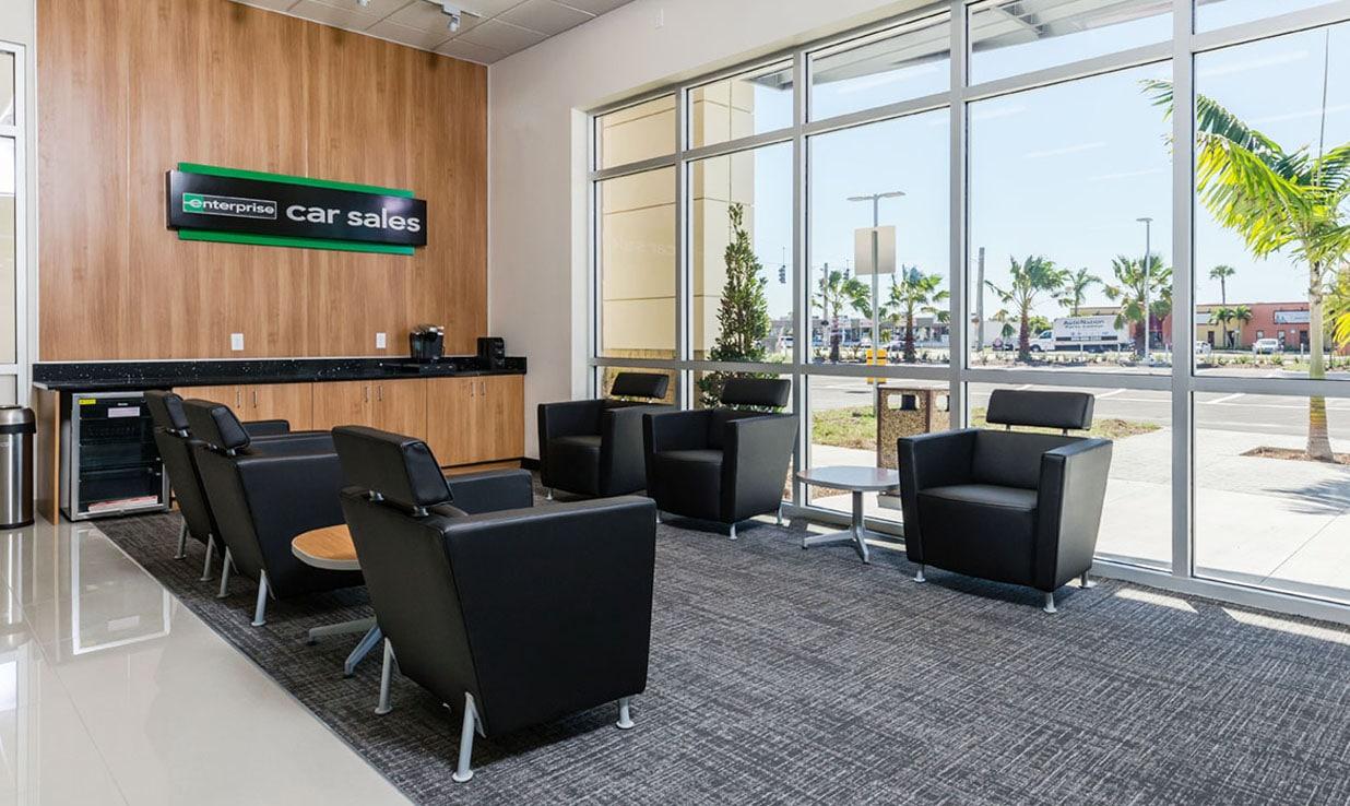 Enterprise Car Sales Lounge