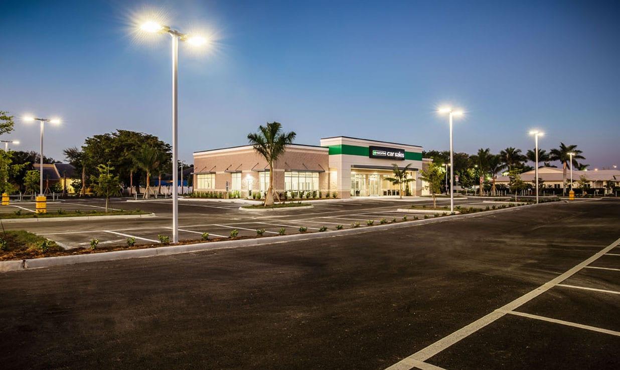 Enterprise Care Sales parking lot