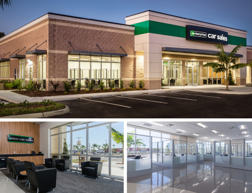 Enterprise Car Sales on Boy Scout Drive Is Ready for Occupancy