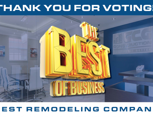 GCG Construction Voted the 2019 Best of Business – Best Remodeling Company