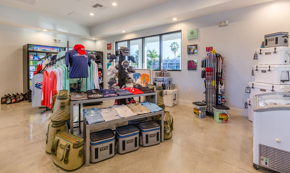 MarineMax shop interior