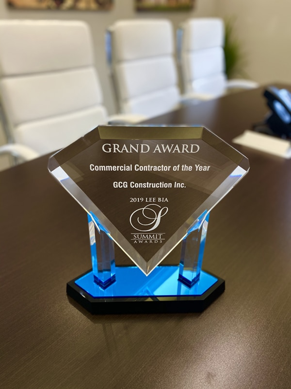 Grand Award, Commercial Contractor of the Year