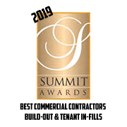 2019 Summit Awards Best Commercial Contractors Build-Out and Tenant In-Fills