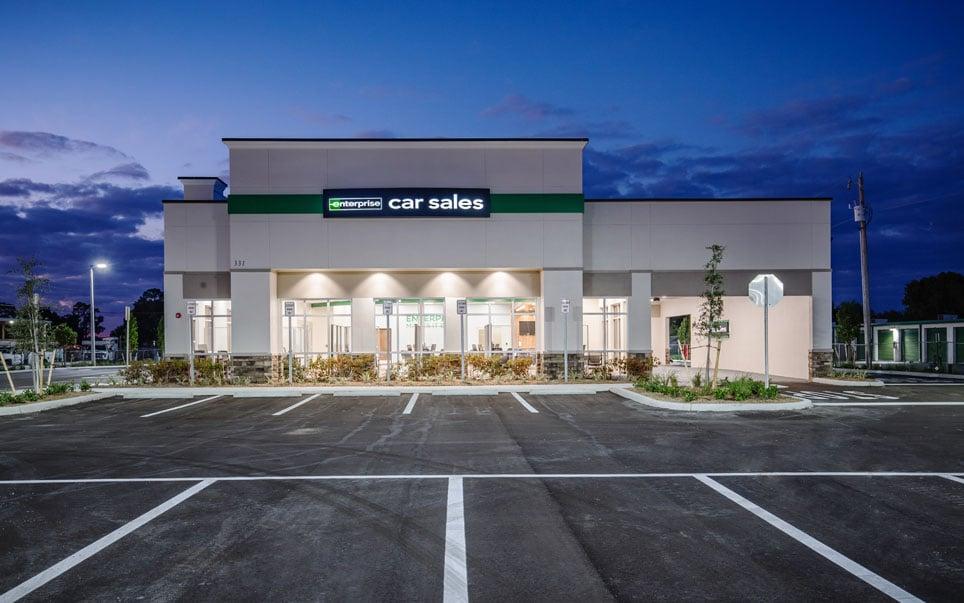 Enterprise Car Rental storefront