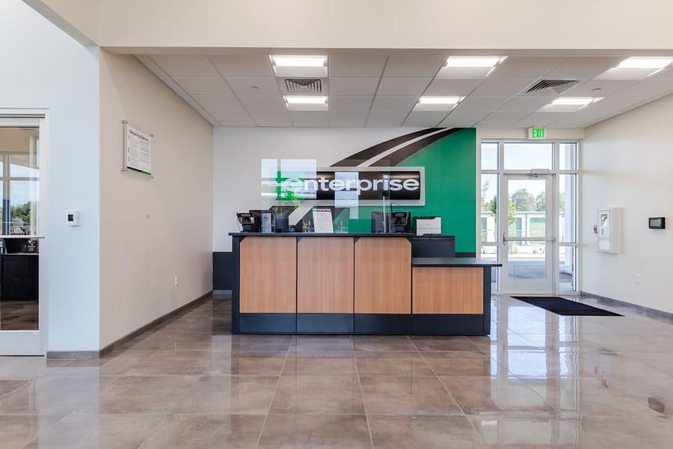 Enterprise Car Sales Building Interior Reception