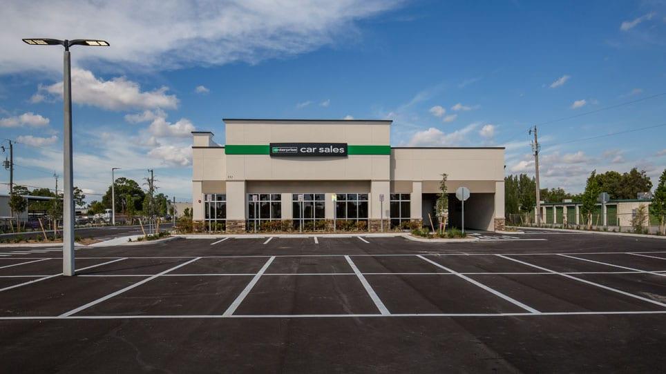 Enterprise Car Sales Building - frontage