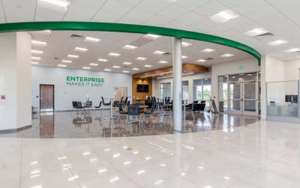 Enterprise Car Rental Interior by GCG Construction