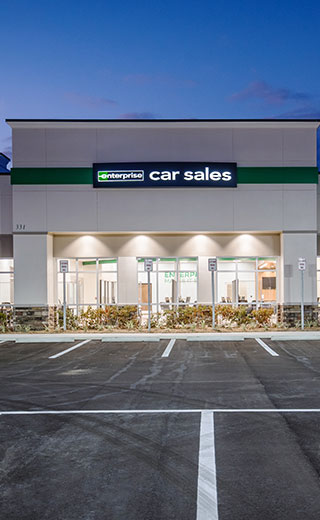 Enterprise Car Sales Exterior