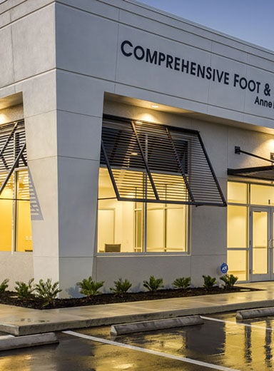 Comprehensive Foot and Ankle Care Building